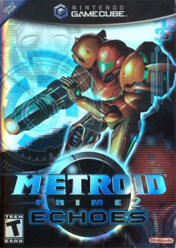 Metroid Prime 2: Echoes Boxart