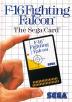 F-16 Fighting Falcon (Sega Card) Box