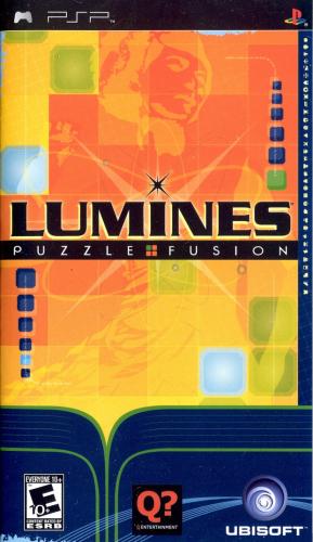 Lumines: Puzzle Fusion Boxart