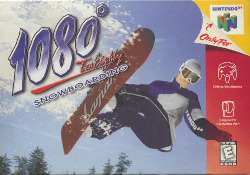 1080° Snowboarding Boxart