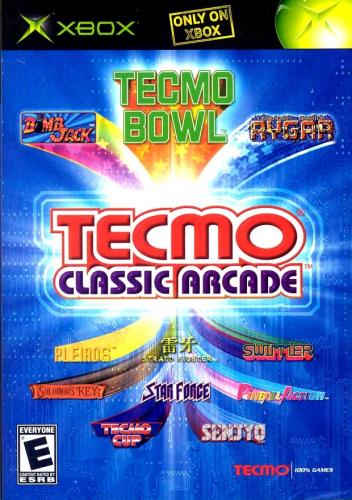 Tecmo Classic Arcade Boxart