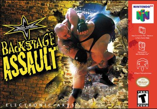 WCW Backstage Assault Boxart