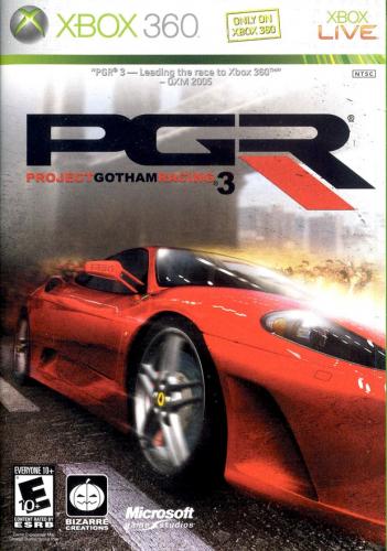 Project Gotham Racing 3 Boxart