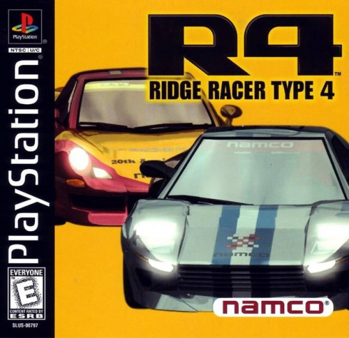 R4 Ridge Racer Type 4 Boxart