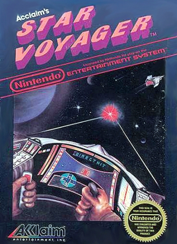 Acclaim's Star Voyager Boxart