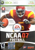 NCAA Football 07 Box