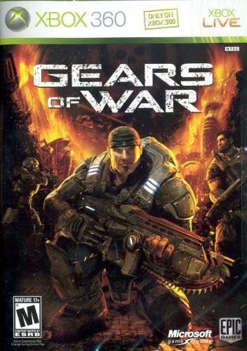 Gears of War Boxart
