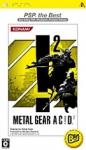 Metal Gear Ac!d ² (PSP the Best)