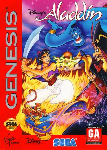 Disney's Aladdin Boxart