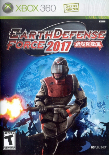 Earth Defence Force 2017 Boxart