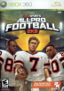 All-Pro Football 2K8 Box