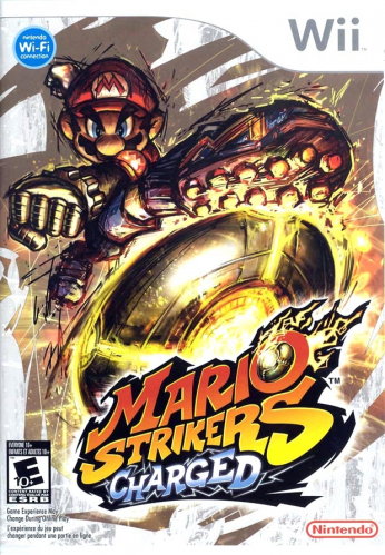 Mario Strikers Charged Boxart