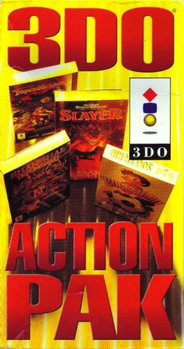 3DO Action Pack Boxart