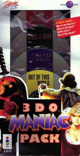 3DO Maniac Pack Boxart