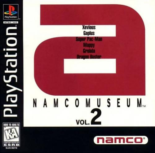 Namco Museum Vol. 2 Boxart