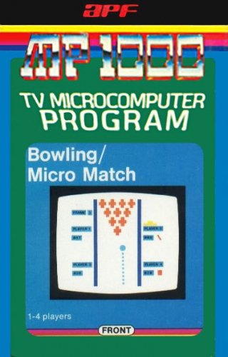 Bowling/Micro Match Boxart