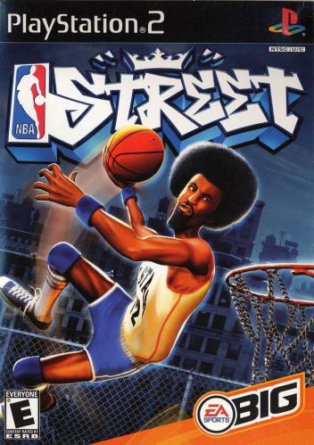 NBA Street Boxart