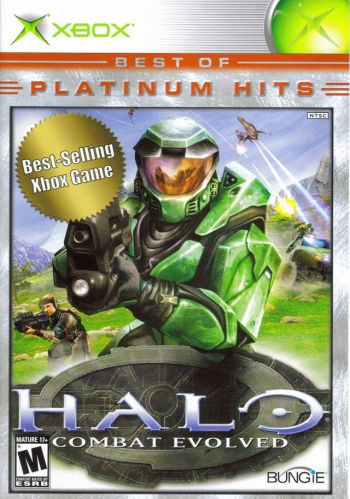 Halo: Combat Evolved (Best of Platinum Hits) Boxart