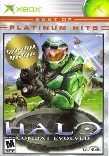 Halo: Combat Evolved (Best of Platinum Hits) Boxart