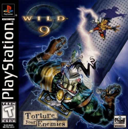 Wild 9 Boxart