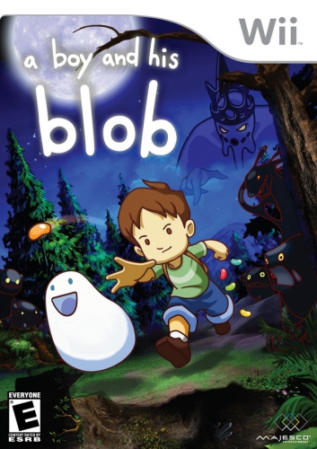 A Boy and His Blob Boxart