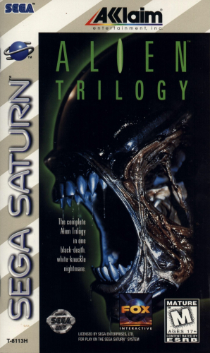 Alien Trilogy Boxart