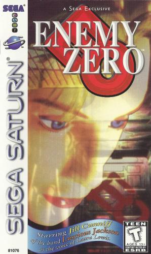Enemy Zero Boxart