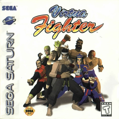 Virtua Fighter Boxart