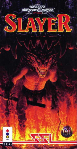 Advanced Dungeons & Dragons: Slayer Boxart