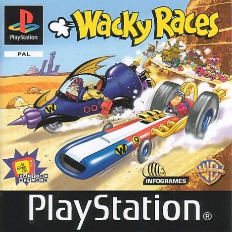 Wacky Races Boxart