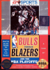 Bulls versus Blazers and the NBA Playoffs Box