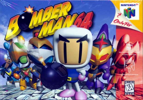 Bomberman 64 Boxart
