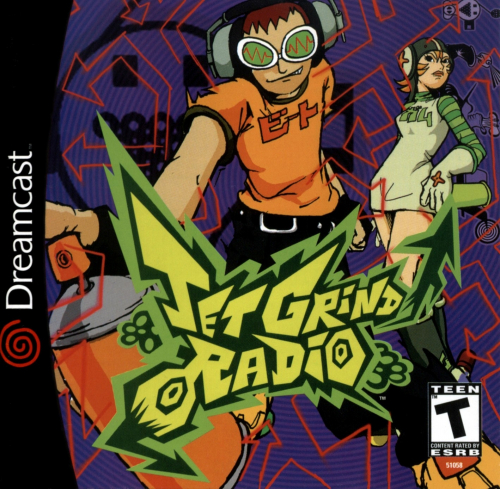 Jet Grind Radio Boxart