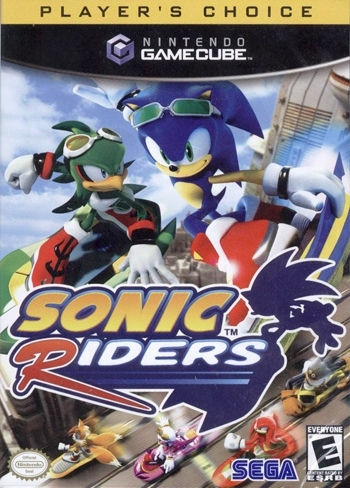 Sonic Riders (Player's Choice) Boxart