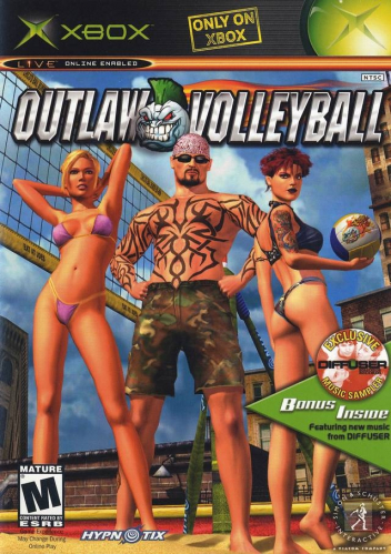 Outlaw Volleyball Boxart