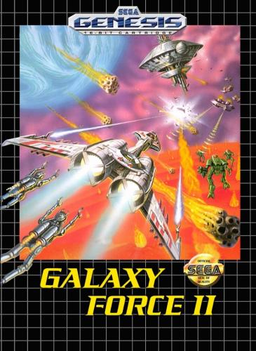 Galaxy Force II Boxart