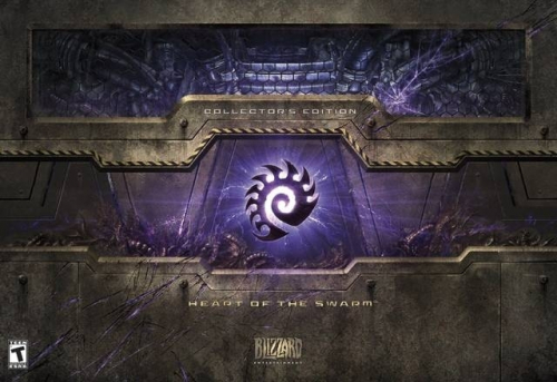Starcraft II: Heart of the Swarm (Collector's Edition) Boxart