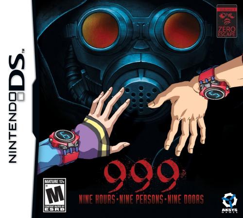 999: Nine Hours, Nine Persons, Nine Doors (Reprint) Boxart