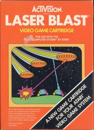 Laser Blast Boxart