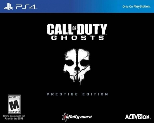 Call of Duty: Ghosts (Prestige Edition) Boxart