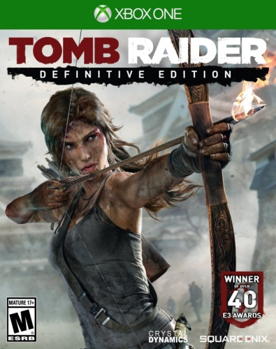 Tomb Raider: Definitive Edition Boxart