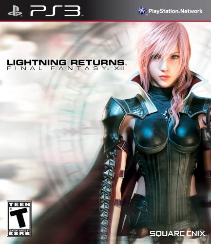 Lightning Returns: Final Fantasy XIII Boxart