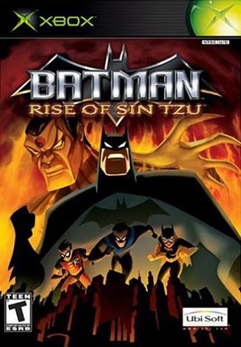Batman: Rise of Sin Tzu Boxart