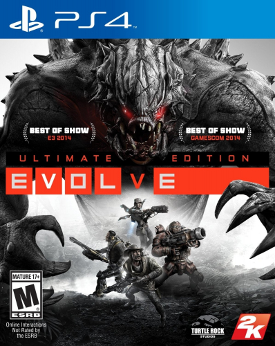 Evolve (Ultimate Edition) Boxart