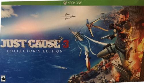 Just Cause 3 (Collector's Edition) Boxart