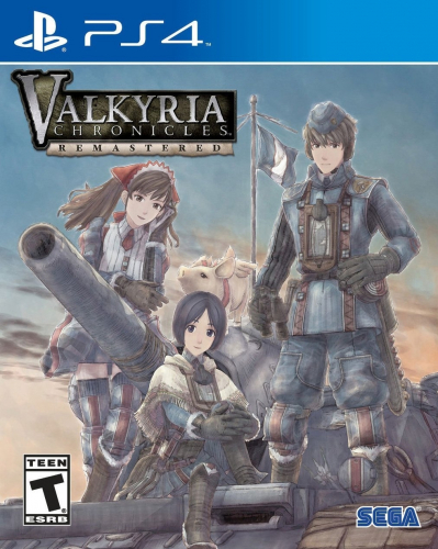 Valkyria Chronicles Remastered Boxart