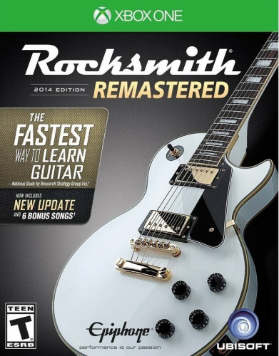 Rocksmith 2014 Edition: Remastered (Cable Bundle) Boxart