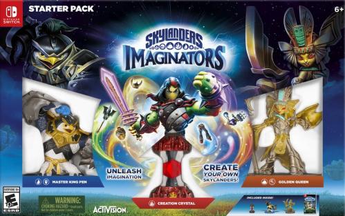 Skylanders Imaginators (Starter Pack) Boxart