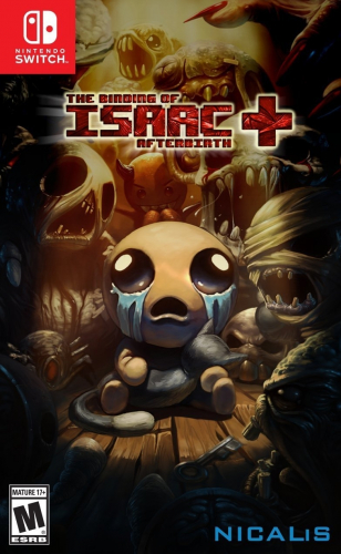 The Binding of Isaac: Afterbirth + Boxart