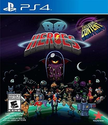 88 Heroes Boxart